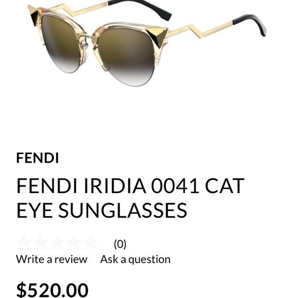 bbb410f0721 Fendi Accessories - FENDI BRAND NEW IRIDIA SUNGLASSES 💯 AUTHENTIC!